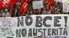 Proteste violente la Frankfurt! Sute de manifestanţi au fost reţinuţi