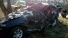 ACCIDENT GRAV în raionul Dondușeni. O persoană A MURIT, iar altele două au ajuns la spital (FOTO)