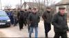 Veterani ai războiului de la Nistru au participat la un marş al păcii în Corjova