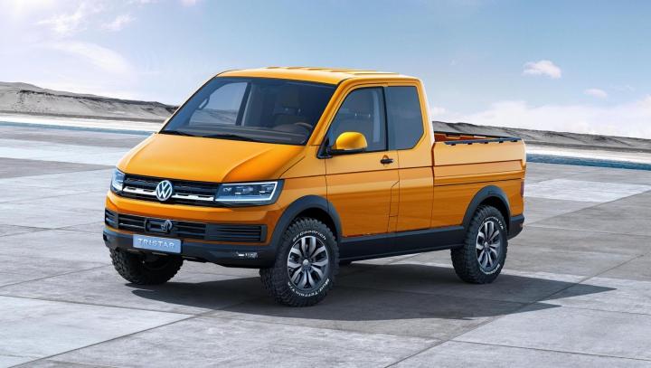 Volkswagen a publicat prima schiţă a noii generaţii Transporter T6 (FOTO)