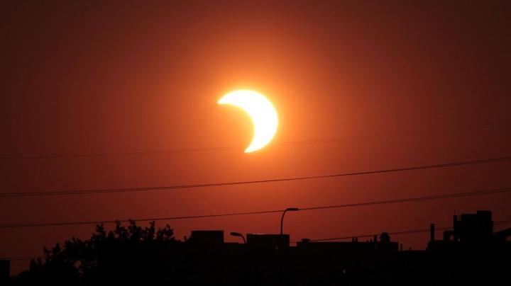 Trebuie să ştii! DETALII despre eclipsa parţială de soare din 20 martie