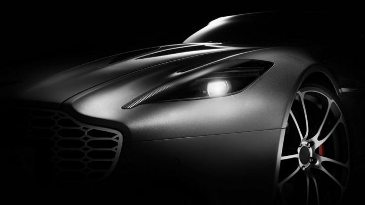 Henrik Fisker a creat un nou concept pe baza supercarului Aston Martin Vanquish (FOTO)