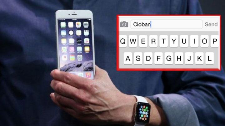 Ce se întâmplă dacă scrii într-un SMS pe iPhone cuvântul CIOBAN şi scuturi TELEFONUL