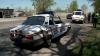 Accident între un TAB american și o mașină a Poliţiei Militare Române