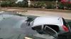 Ce se întâmplă atunci când un taxi nu cedează trecerea? Ajungi cu mașina în... PISCINĂ (VIDEO)