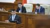 Gaburici, la Parlament. Ce spun deputații despre asumarea răspunderii Guvernului în fața Legislativului