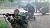 Paştele nu le-a fost stavilă. Rebelii din Donbas au atacat repetat forţele constituţionale