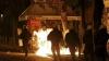 Ciocniri VIOLENTE în capitala Greciei. Protestatarii au aruncat cu cocktailuri Molotov şi pietre