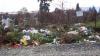 Tone de gunoi în cimitire şi urne aruncate în lac! Bilanţul Paştelui Blajinilor la Chişinău (VIDEO)