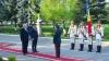 Ziua Drapelului serbată la Ministerul Apărării. De emoţii, premierul Gaburici şi-a uitat discursul (VIDEO)