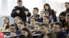 A vorbit în limba română! Ambasadorul SUA în Moldova a discutat cu studenții de la USM