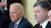 Petro Poroşenko la întrevedere cu Joe Biden. SUA a decis acordarea unui ajutor financiar Ucrainei