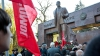 Cu dor de Lenin. Simpatizanţi şi membri ai PCRM l-au comemorat pe revoluţionarul rus (VIDEO)