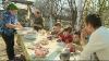 Pregătiri de Paşte într-o familie din satul Lozova (VIDEO)