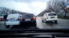 (VIDEO) Ambuteiaj pe drumul Chişinău-Orhei. VEZI cauza
