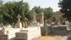 Ca în filmele de groază: Mormintele dintr-un cimitir au luat-o la vale (VIDEO)