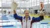 Vârsta nu pune LIMITE! O femeie de 100 de ani a doborât un record la înot