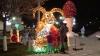 Piaţa principală a Chişinăului, inundată în lumini de sărbătoare
