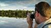 EXCES de emoţii! Un bărbat a rămas UIMIT de ce filmase într-o călătorie (VIDEO)