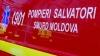 Accident ÎNFIORĂTOR lângă Bălţi! O maşină a fost făcută praf (VIDEO)