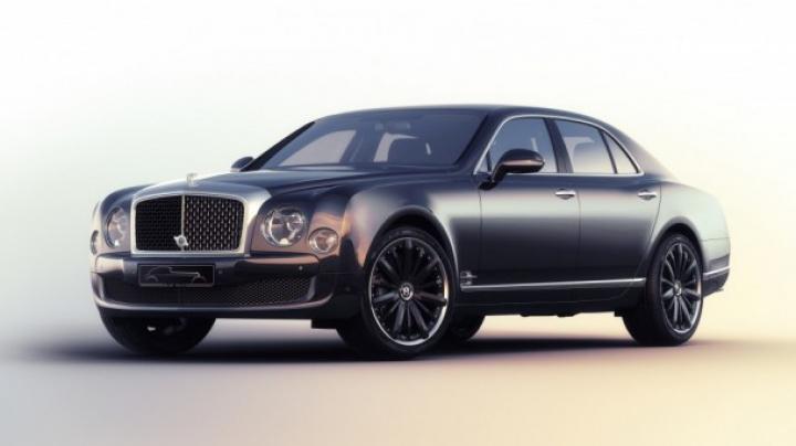 """Bentley a creat o ediție limitată a performerului Mulsanne Speed numită """"Blue Train"""""""