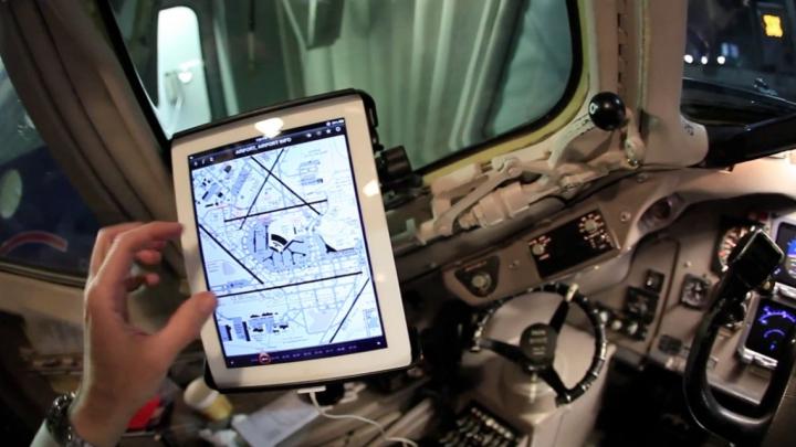 O eroare de funcționare a iPad-ului a ținut la sol zeci de avioane americane