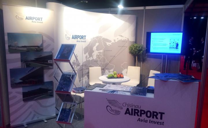 Aeroportul Internațional Chișinău a participat la cel mai important forum regional de dezvoltare a rutelor aeriene - Routes Europe 2015