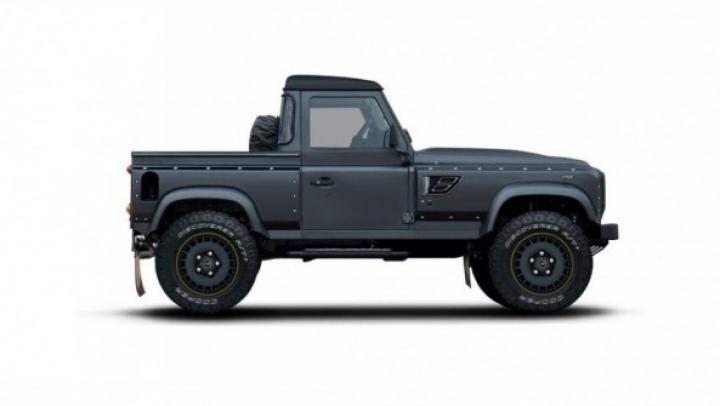 Kahn Design pregătește un nou pick-up pe baza legendarului Land Rover Defender