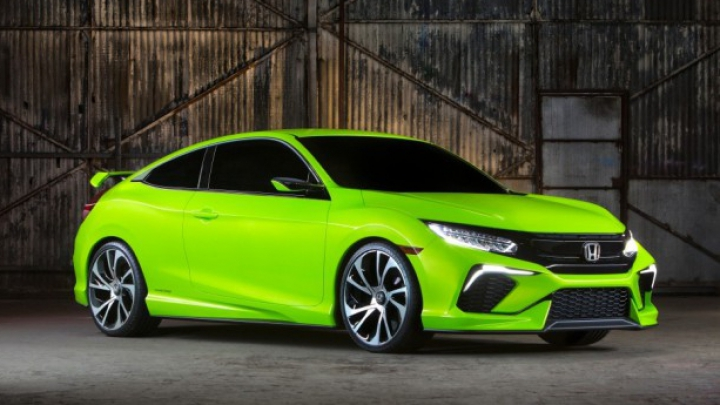 New York 2015: Honda Civic Concept prefigurează versiunea americană a renumitei compacte