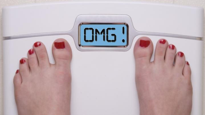 EXPERIMENT: Câte kilograme au adunat unii moldoveni de Paşte