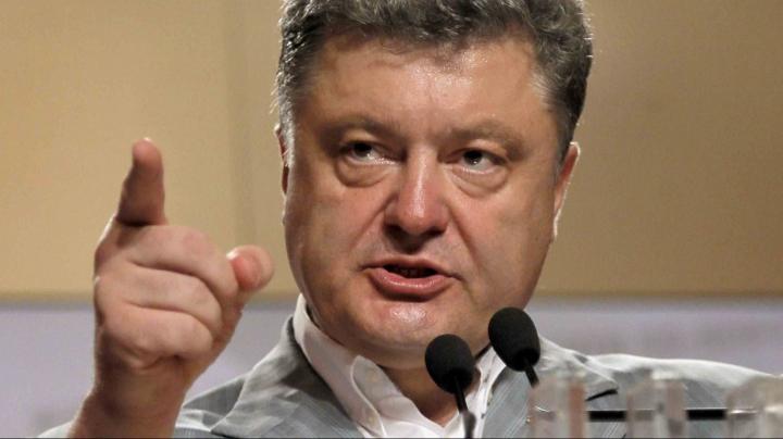 Preşedintele ucrainean, Petro Poroşenko aşteaptă în câteva săptămâni sosirea primului transport cu arme din SUA