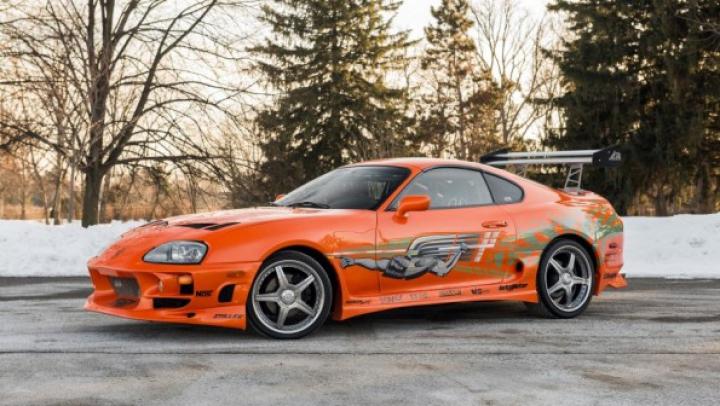 Coupeul Toyota Supra din filmul Fast and Furios va fi scos în vânzare