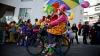 Veselie și costume multicolore în Peru! Sute de clovni şi-au serbat ziua profesională