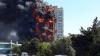 INCENDIU DE PROPORŢII! Un bloc de 16 etaje, ÎN FLĂCĂRI (VIDEO)