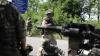 Noapte tensionată la Doneţk. Armata ucraineană, atacată cu mitraliere şi focuri de artilerie