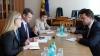 Au discutat despre reintegrarea ţării! Vicepremierul Osipov s-a întâlnit cu Ambasadorul Marii Britanii în Moldova