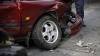 ACCIDENT TERIBIL în Capitală. O mașină a fost lovită grav de o autospecială