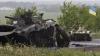 Doi militari ucraineni au murit, după ce o blindată a trecut peste o mină de teren