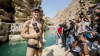 Britanicul Garry Hunt a făcut spectacol la Campionatul Mondial de Cliff Diving