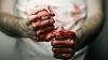 TEROARE la Inspectoratul de Poliție Ciocana! Un tânăr și-a vărsat nervii și s-a umplut de sânge (VIDEO)