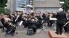 """Ritmuri de fanfară în Grădina Publică """"Ștefan cel Mare"""". Orchestre de copii au încântat trecătorii (VIDEO)"""