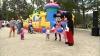 Sute de copii și părinți s-au distrat la Festivalul Familiei din Nisporeni