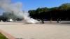 ALERTĂ ŞI FUM DENS! O maşină a fost cuprinsă de flăcări la Donduşeni (VIDEO)