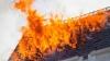 IMAGINI VIDEO cu momentul în care flăcările mistuiesc blocul după explozia de la Cantemir