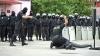 Demonstraţii de forţă! EFECTE SPECTACULOASE şi aplicaţii ale poliţiştilor de la Fulger (VIDEO)