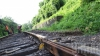 ''Este o diversiune''. O EXPLOZIE a deteriorat liniile de cale ferată din regiunea Lugansk