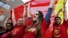 Manifestație proguvernamentală în Macedonia. Circa 30.000 de oameni au ieșit în stradă