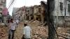 Bilanț TRAGIC în urma noului cutremur din Nepal. Zeci de oameni morţi şi sute de răniţi (VIDEO)