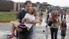 Oraşul american Oklahoma, RĂVĂŞIT de tornade: Case distruse şi copaci doborâţi