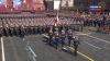Paradă MILITARĂ de proporţii la Moscova. La Cita însă un blindat a luat foc (VIDEO)
